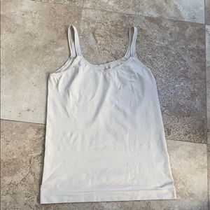 Anthropologie Floreat Nude Cami Size Small